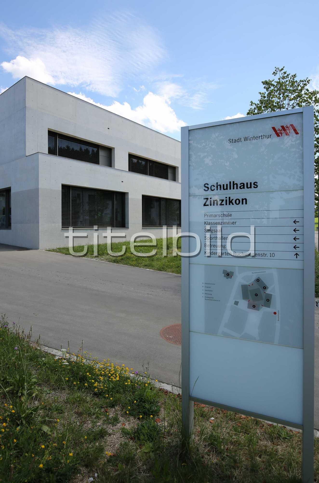 Projektbild-Nr. 7: Schulhaus Zinzikon