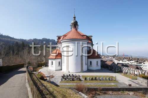Bild-Nr: 1des Objektes Kirche St. Anna Schindellegi