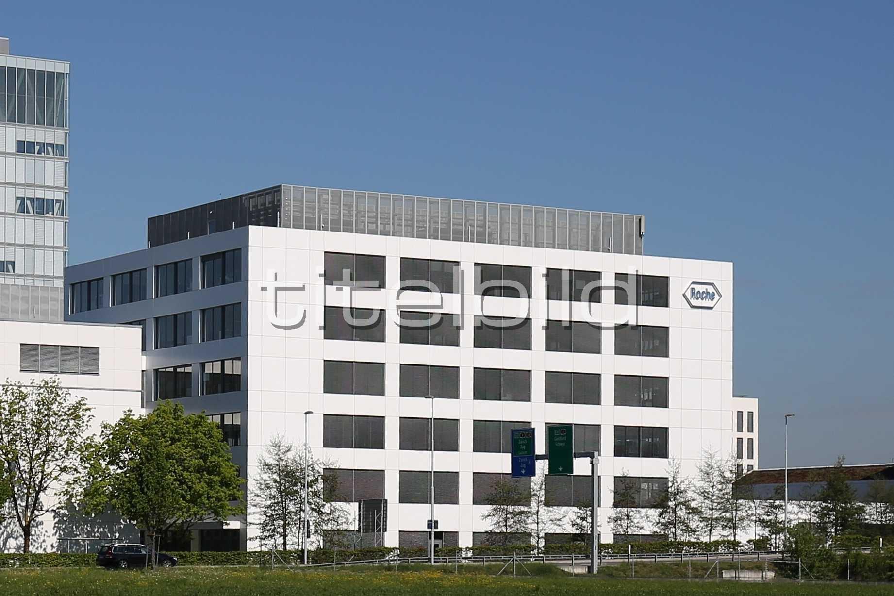 Projektbild-Nr. 1: Neubau Roche Rotkreuz Bau 7