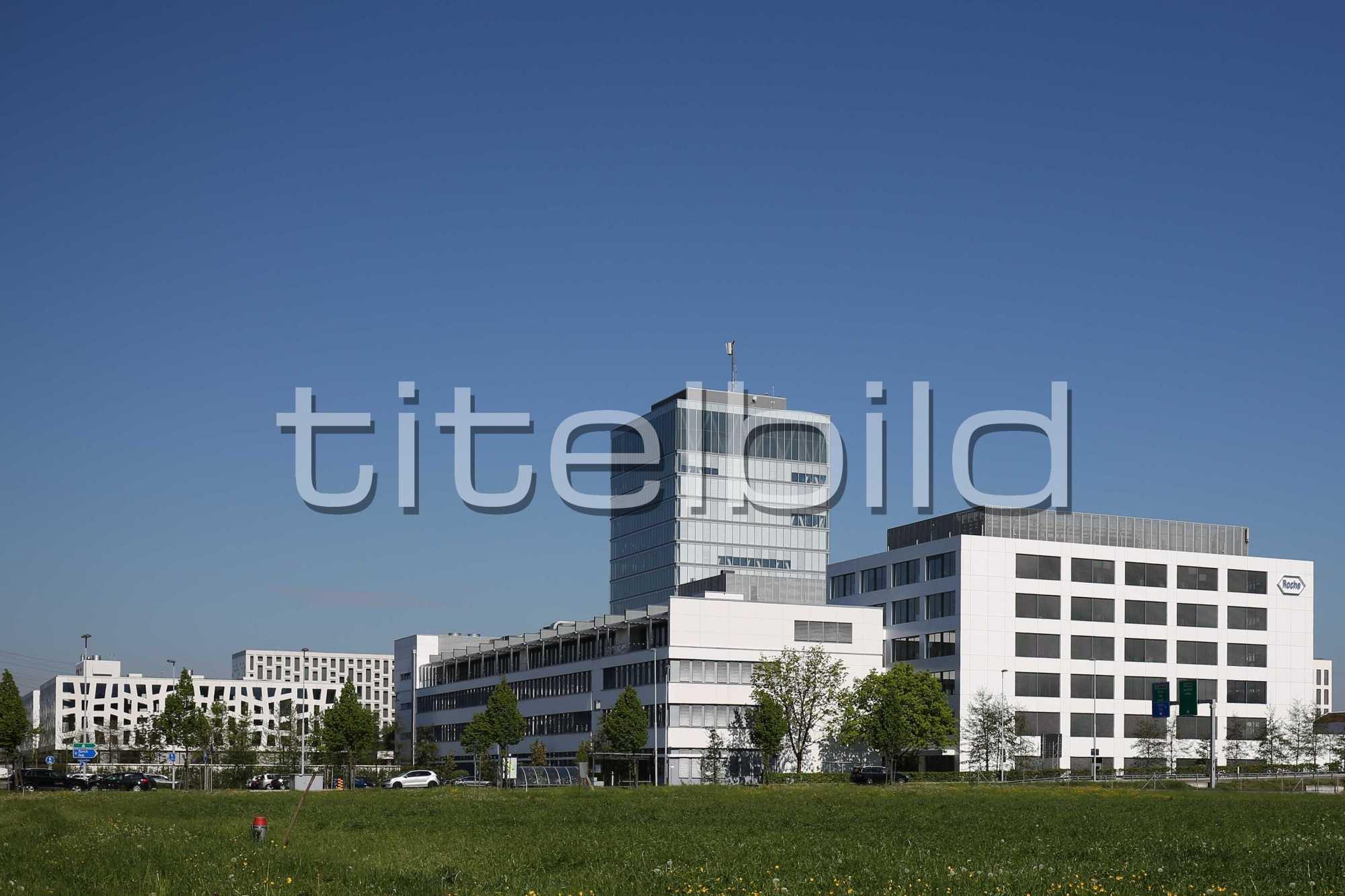 Projektbild-Nr. 2: Neubau Roche Rotkreuz Bau 7