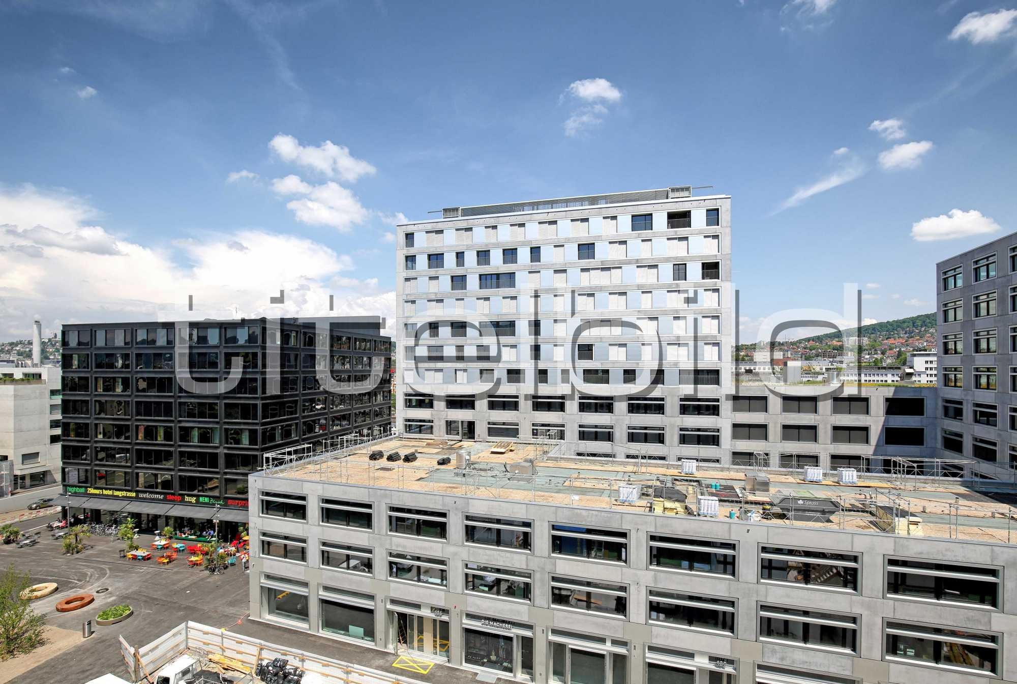 Projektbild-Nr. 1: Europaallee Haus H, 25hours hotel, GUSTAV Residenz