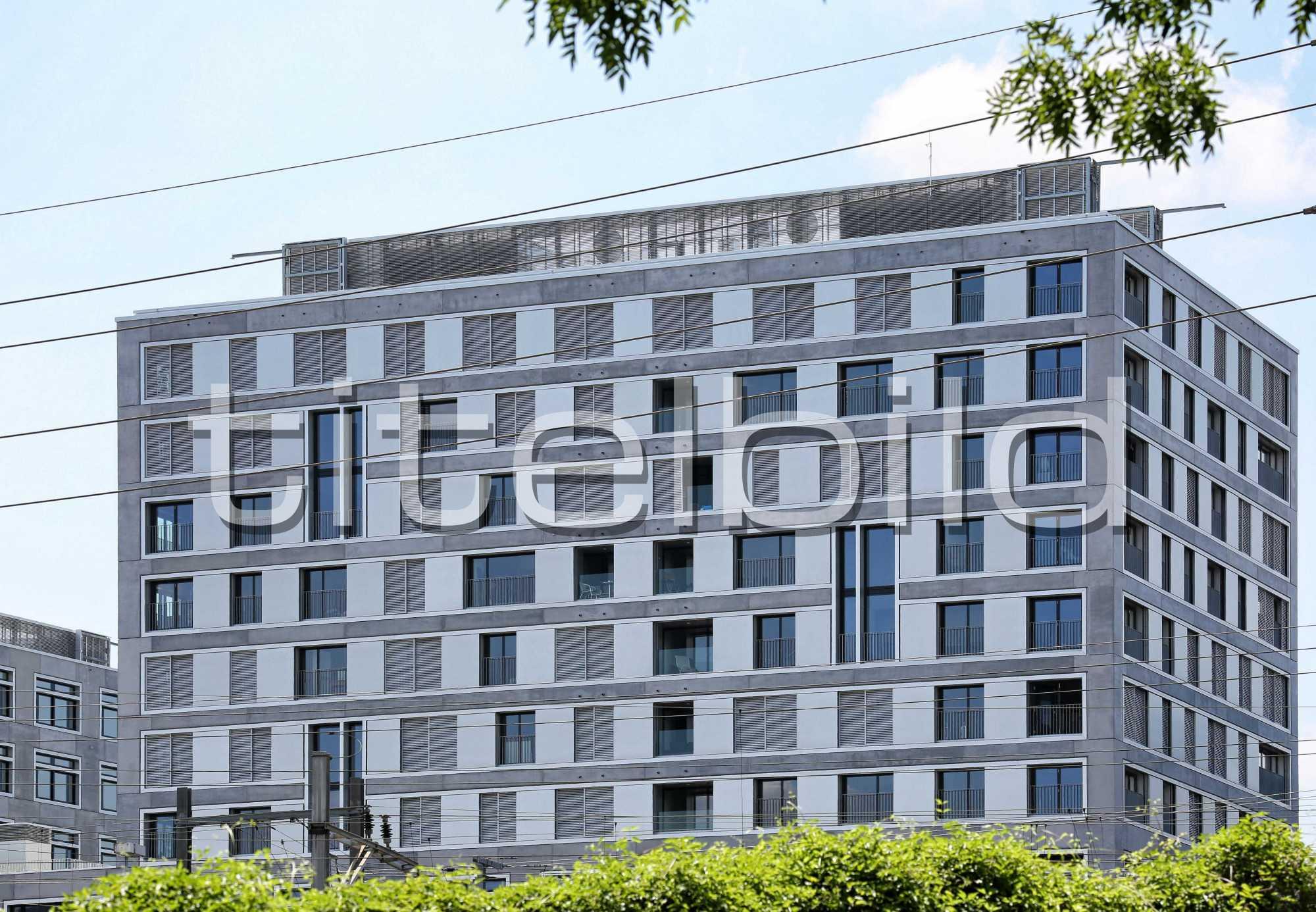 Projektbild-Nr. 3: Europaallee Haus H, 25hours hotel, GUSTAV Residenz