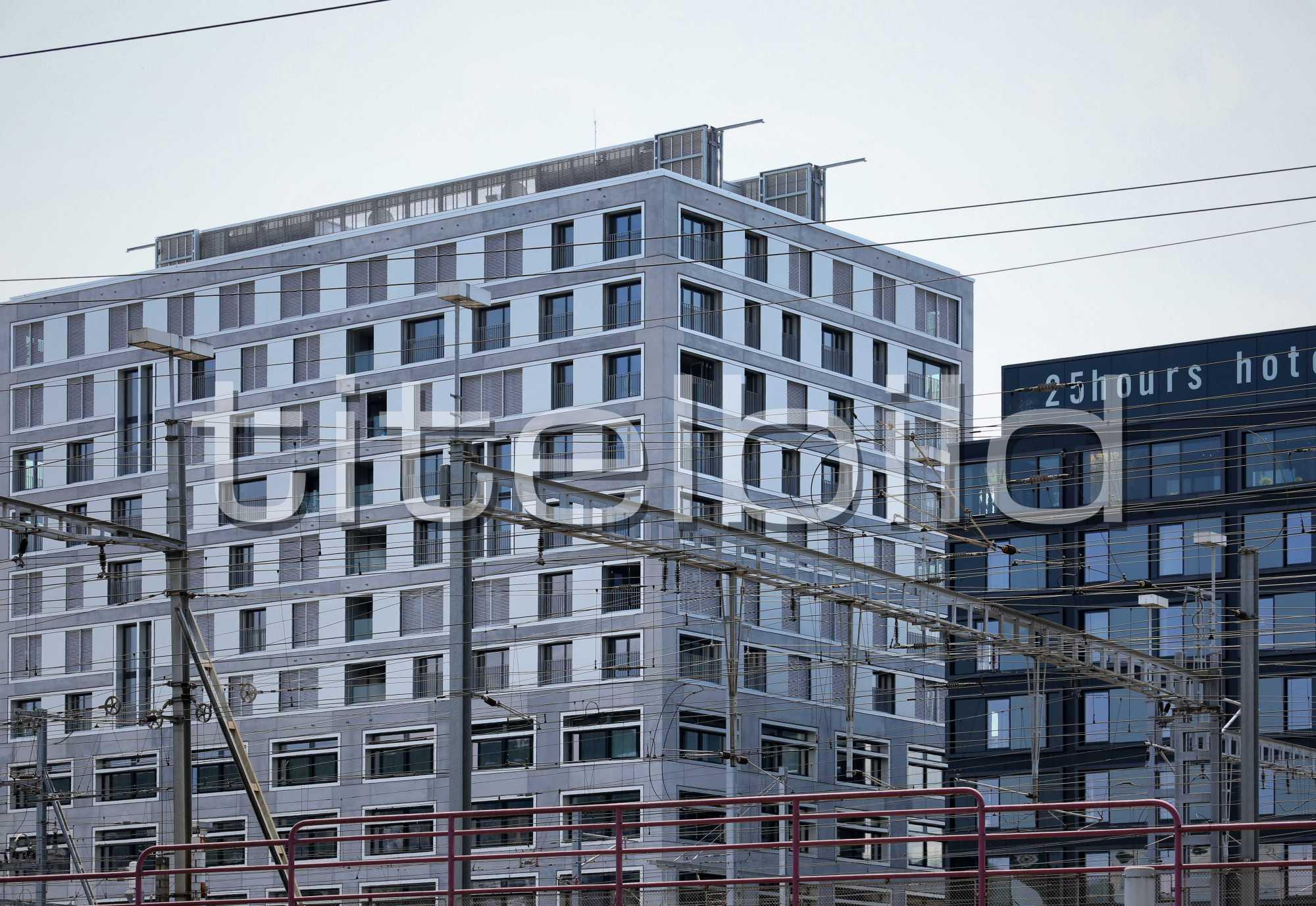 Projektbild-Nr. 6: Europaallee Haus H, 25hours hotel, GUSTAV Residenz