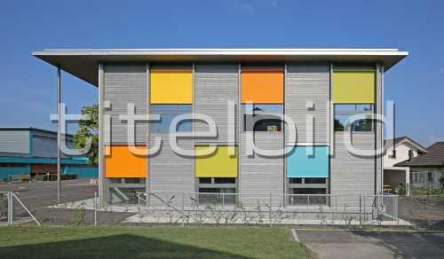Bild-Nr: 3des Objektes Erweiterung Schulanlage Leematten