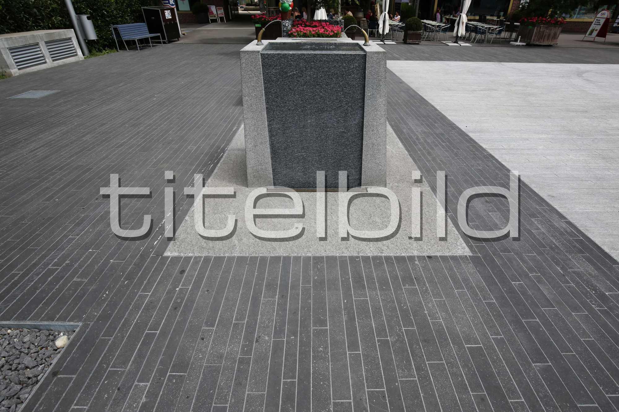 Projektbild-Nr. 3: Stadtplatz Nord, Ersatz Meteorwasser Marktgasse