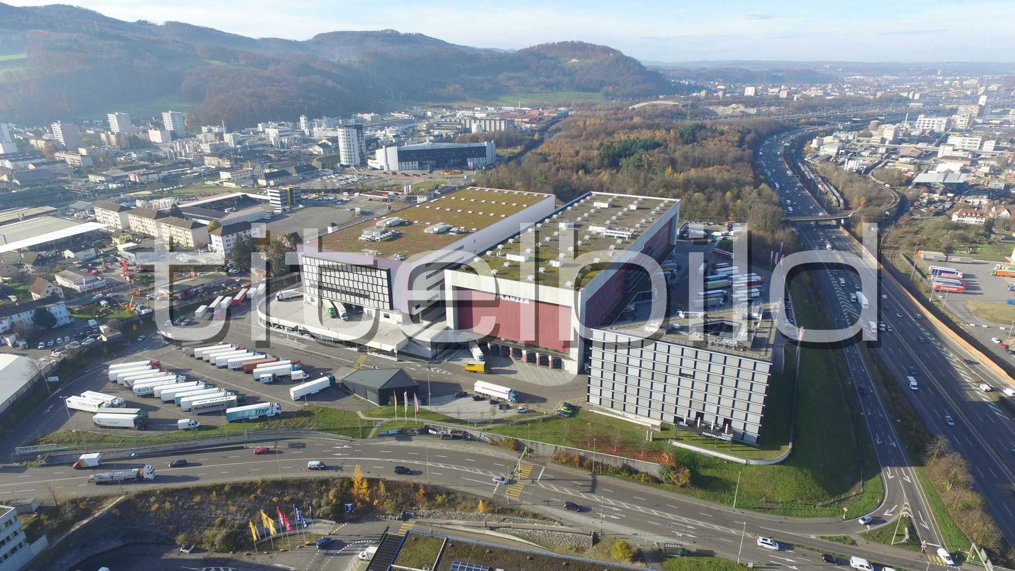Projektbild-Nr. 3: Logistikcenter Planzer Transport AG
