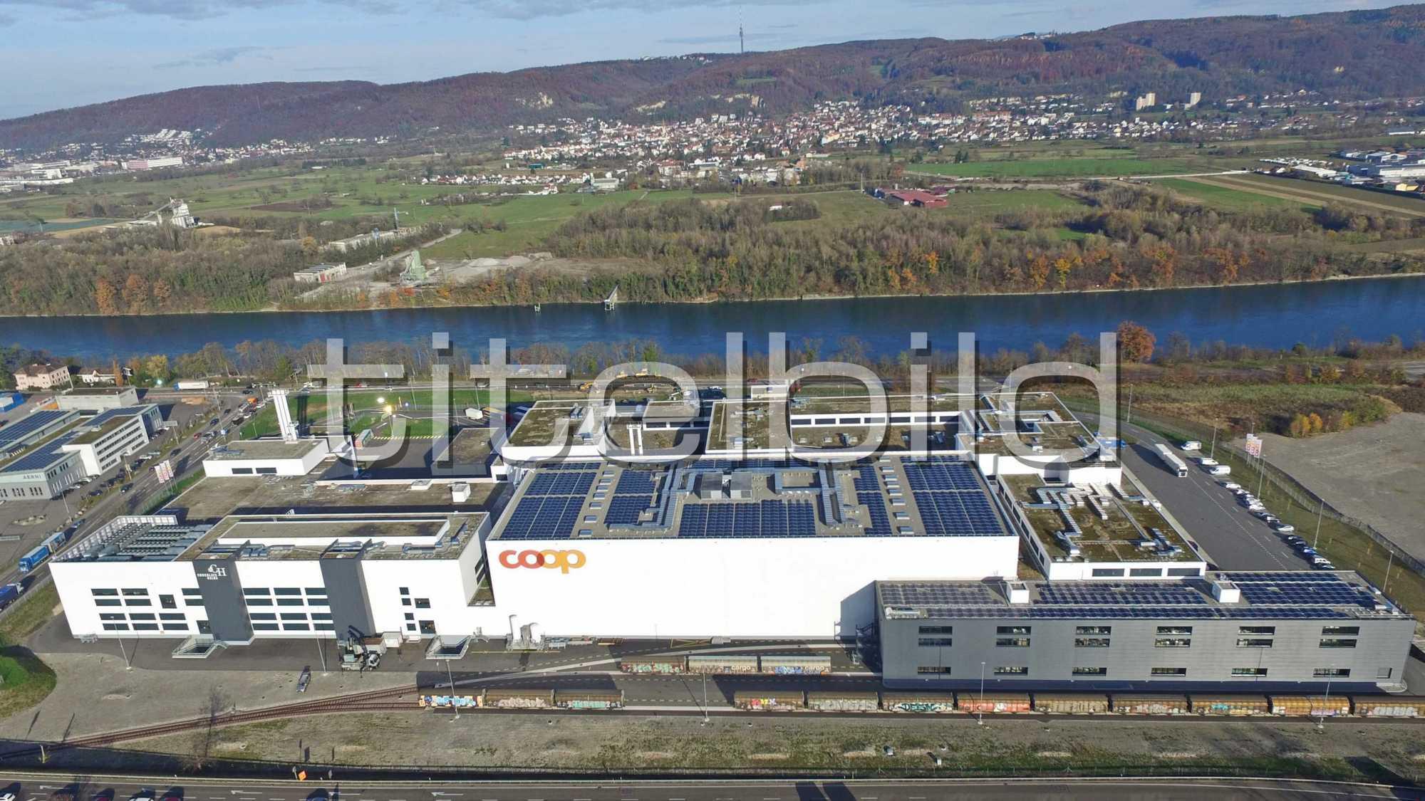 Projektbild-Nr. 1: Neubau Produktionsstandort Coop LoBOS