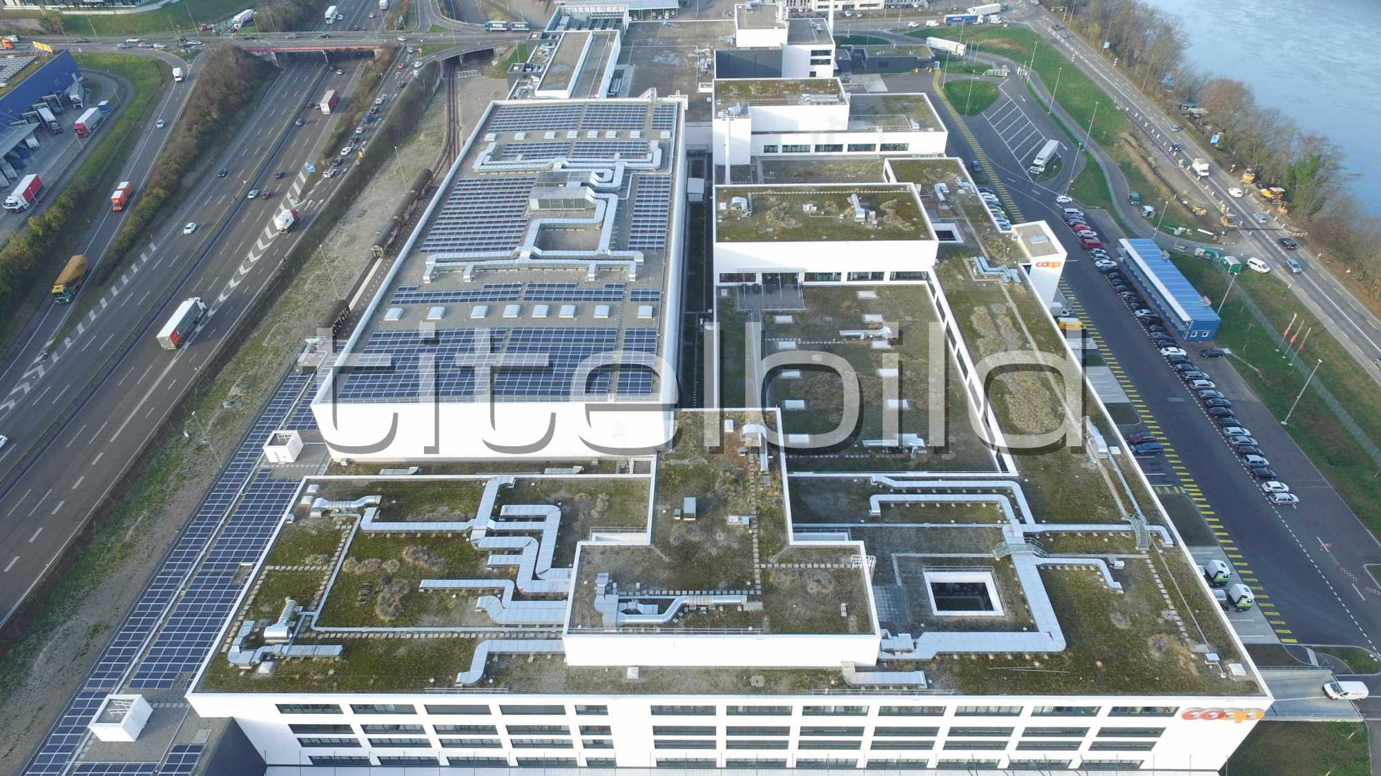 Projektbild-Nr. 2: Neubau Produktionsstandort Coop LoBOS