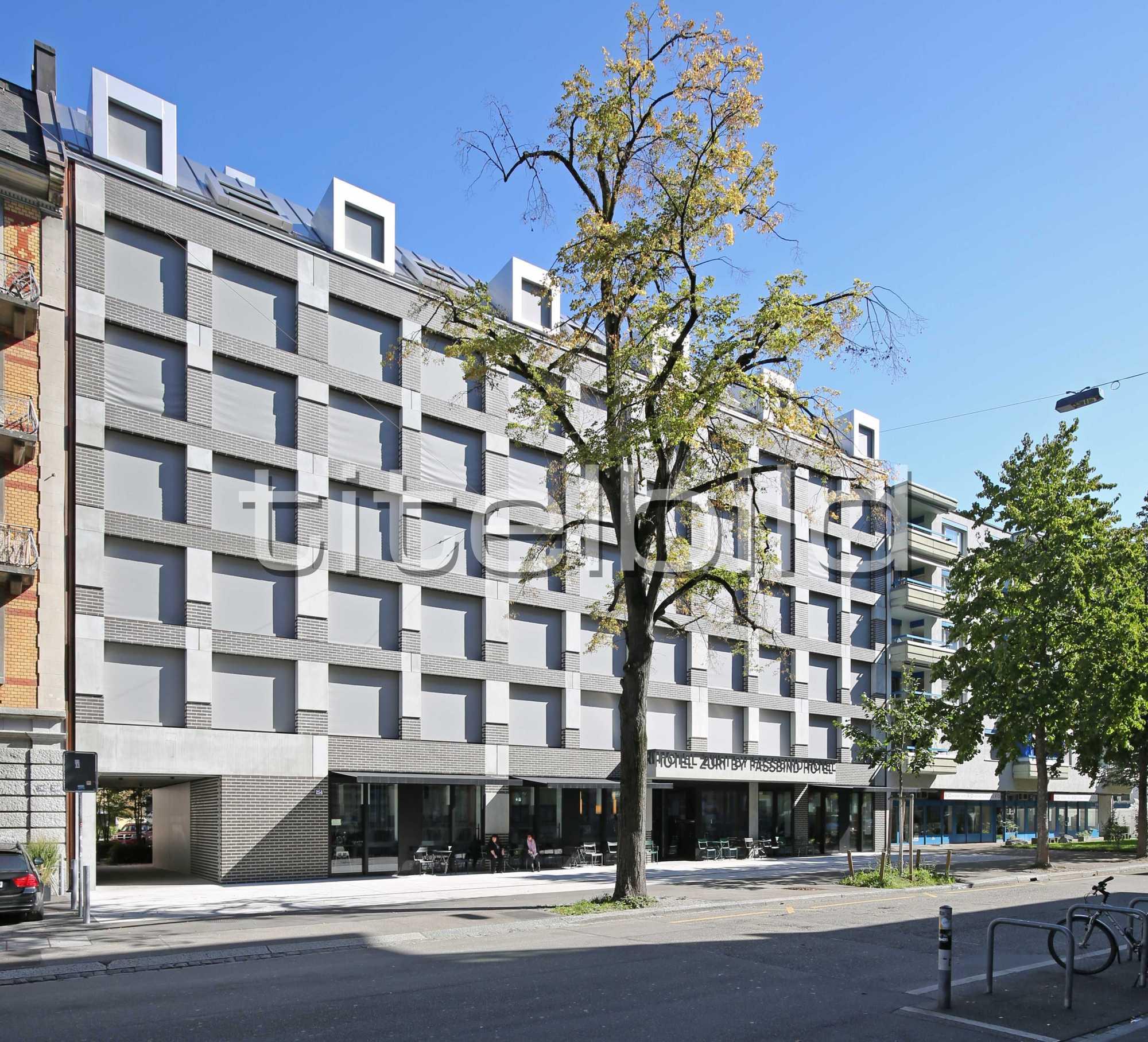 Projektbild-Nr. 1: Hotel Züri by Fassbind