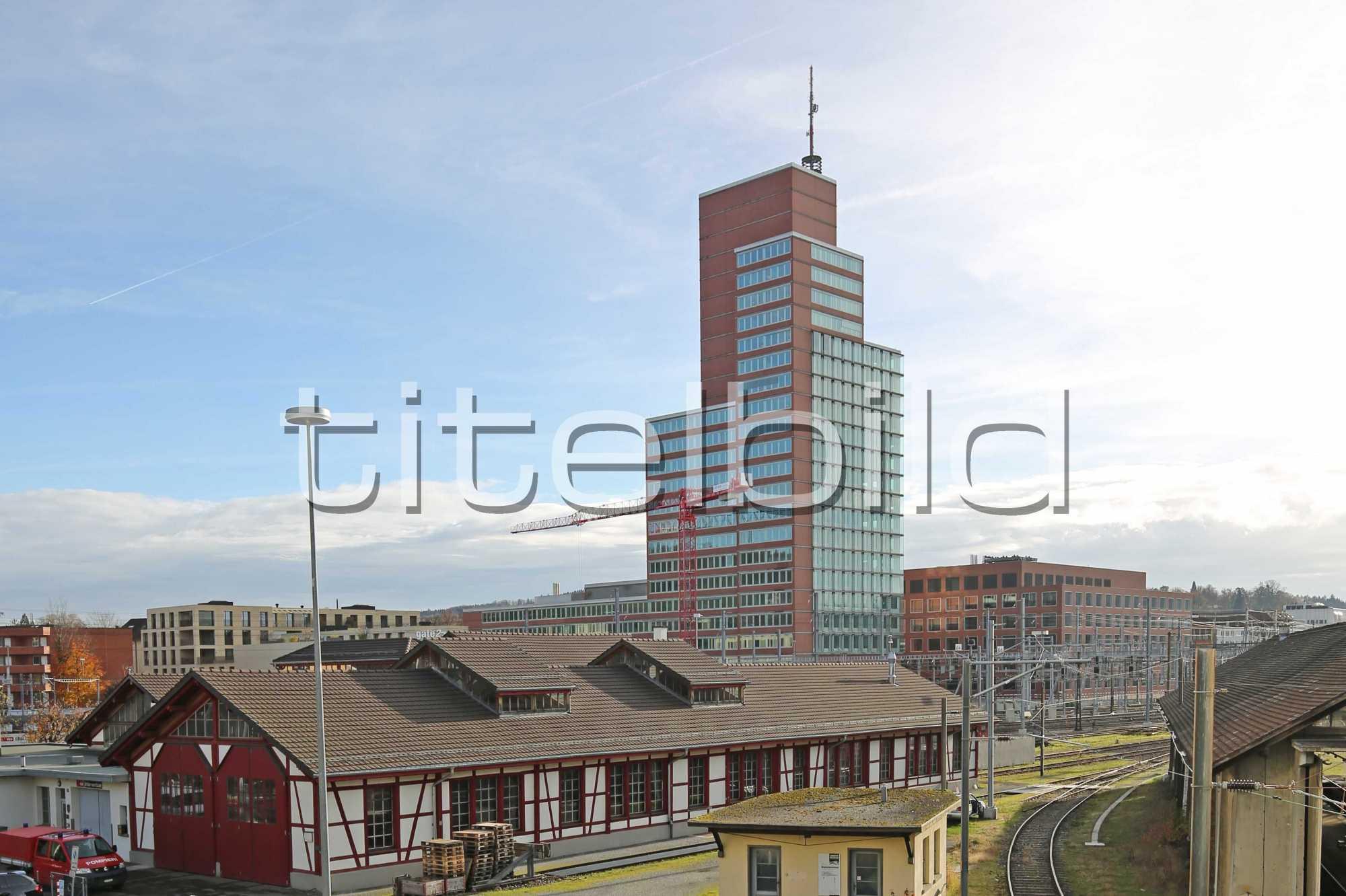 Projektbild-Nr. 1: Roter Turm Winterthur