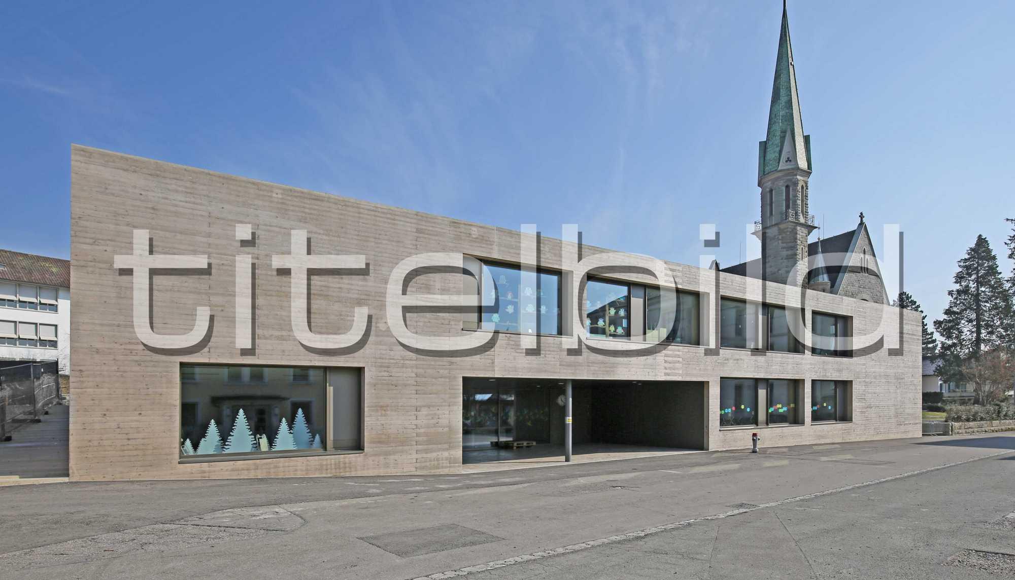 Projektbild-Nr. 0: Neubau Schul- und Mehrzweckgebäude Blatten