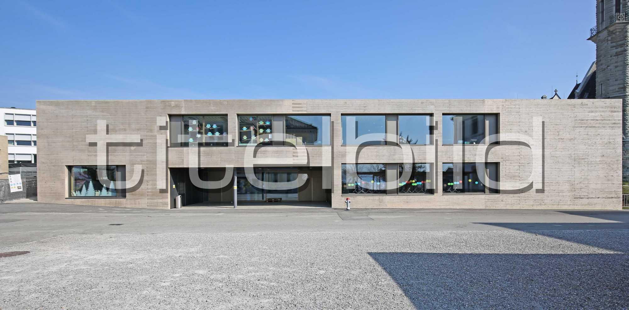 Projektbild-Nr. 2: Neubau Schul- und Mehrzweckgebäude Blatten