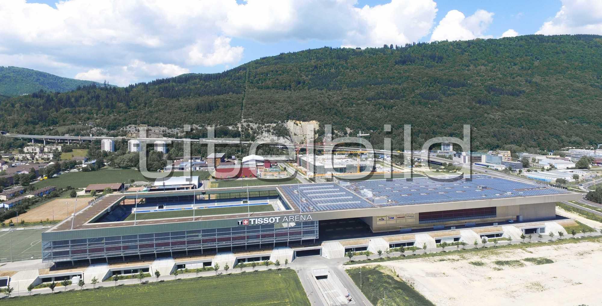 Projektbild-Nr. 1: Tissot Arena