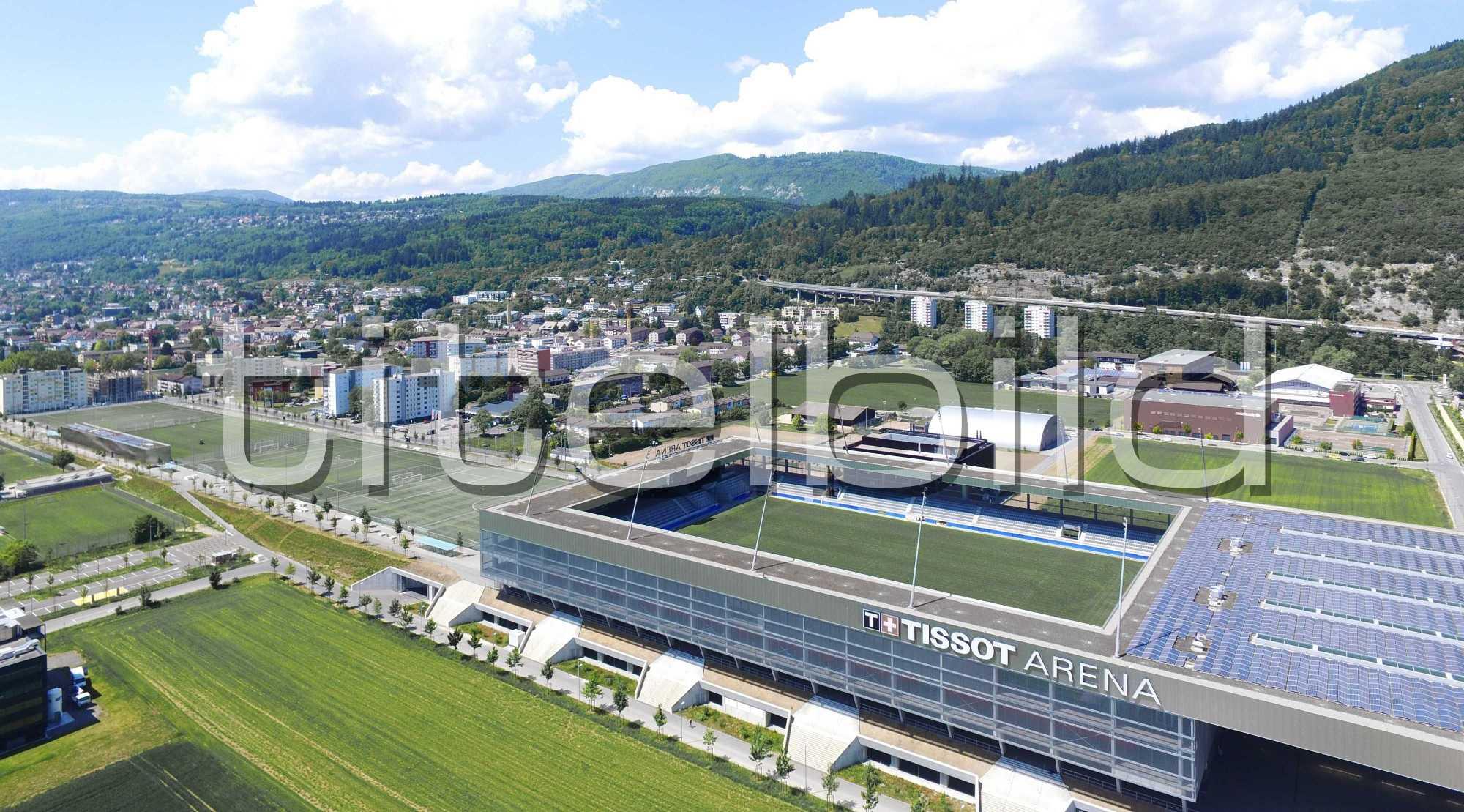 Projektbild-Nr. 2: Tissot Arena