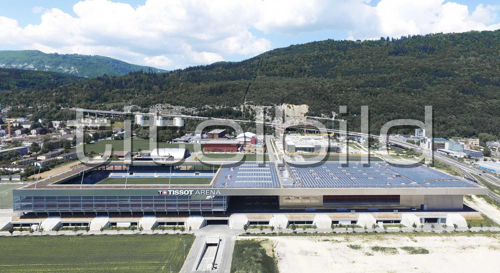 Projektbild-Nr. 3: Tissot Arena
