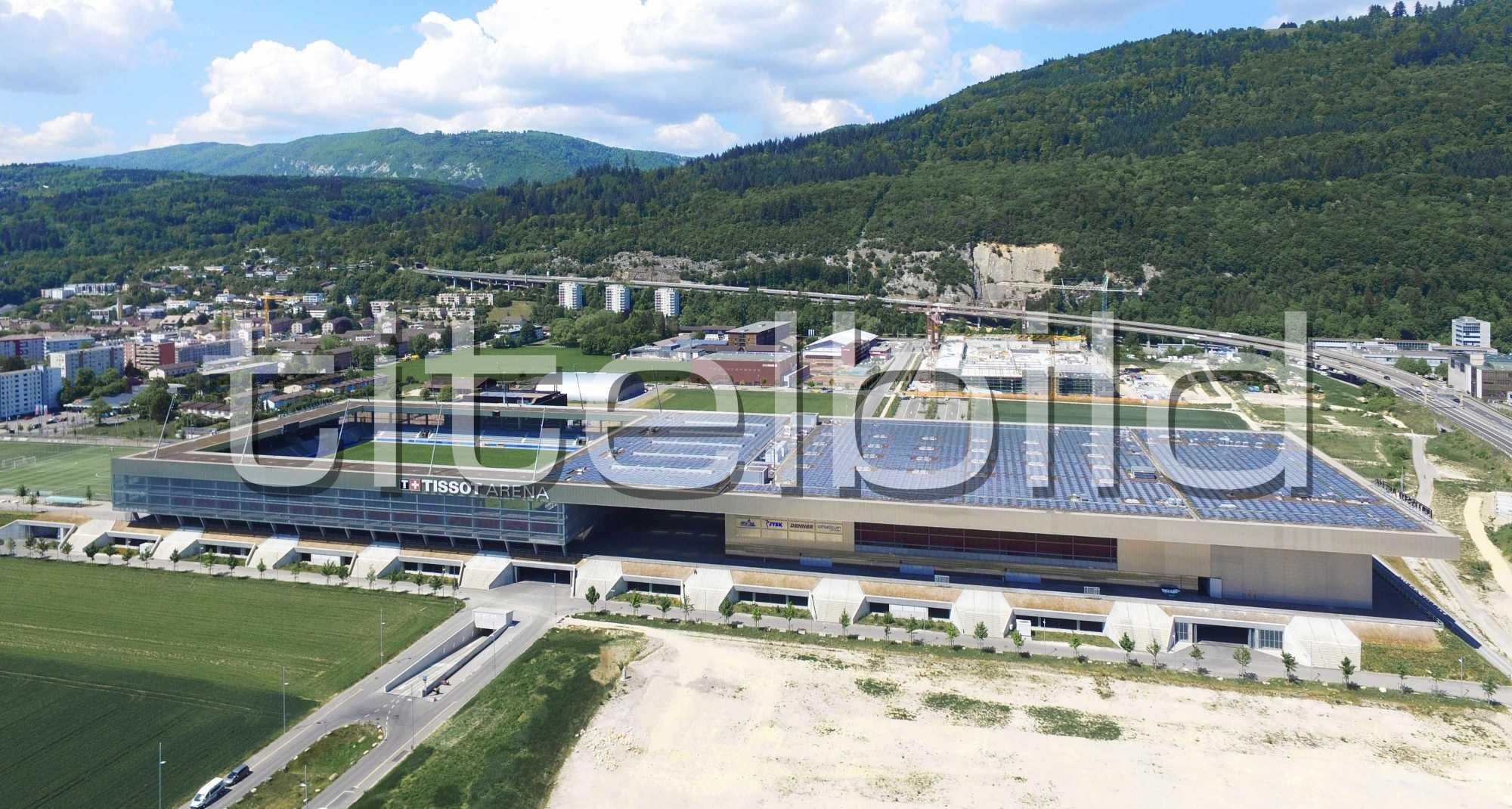 Projektbild-Nr. 4: Tissot Arena