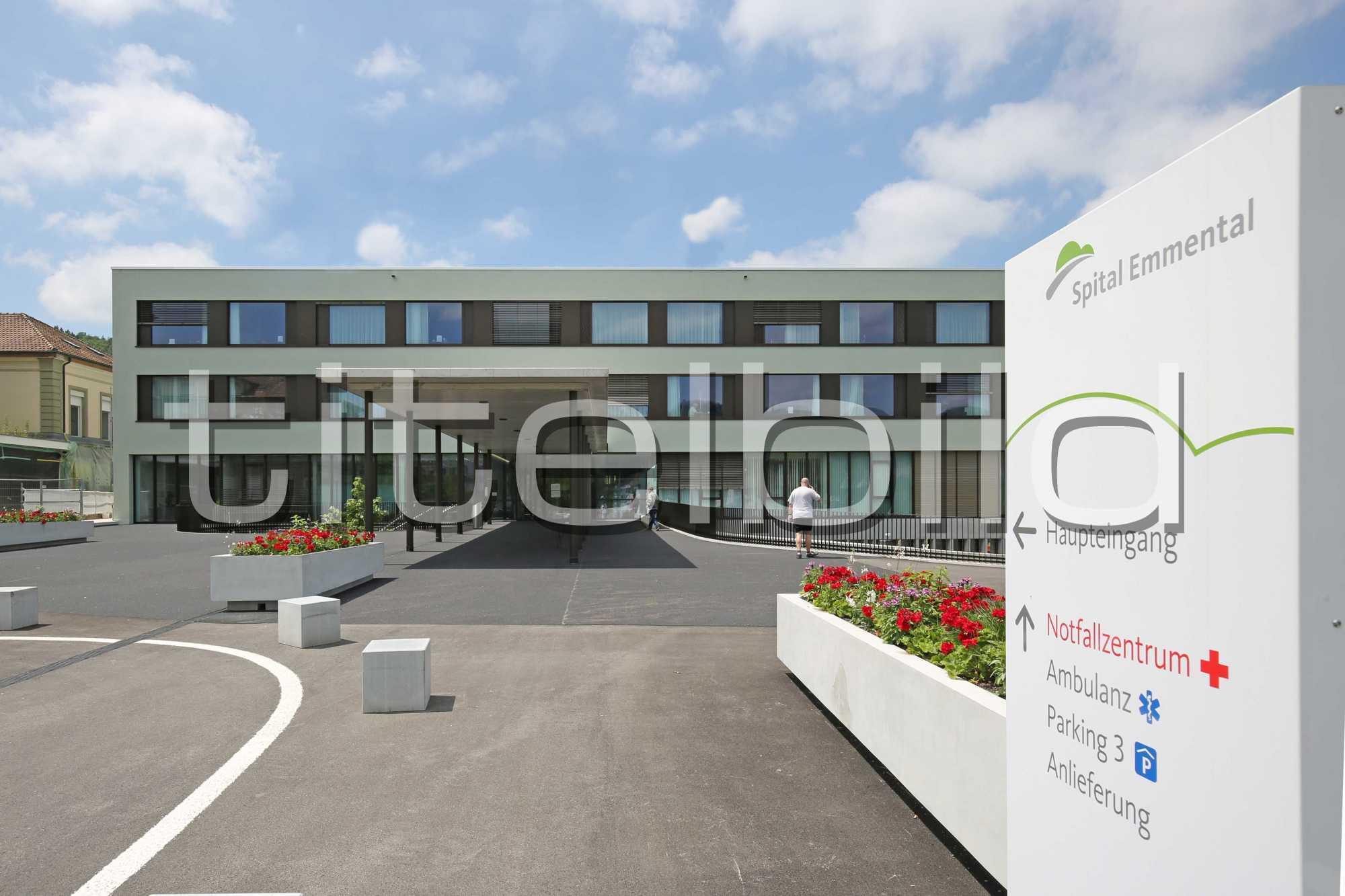 Projektbild-Nr. 0: Regionalspital Emmental, Spital Burgdorf