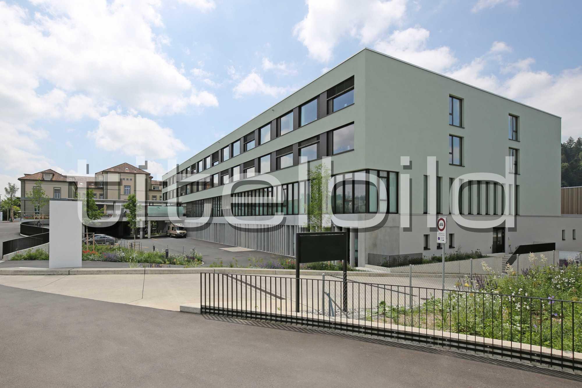 Projektbild-Nr. 2: Regionalspital Emmental, Spital Burgdorf