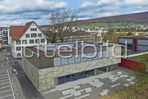 Bild-Nr: 1des Objektes Schulanlage Neuenhof Neubau Aula