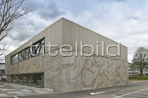 Bild-Nr: 2des Objektes Schulanlage Neuenhof Neubau Aula
