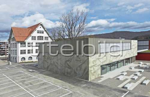 Bild-Nr: 3des Objektes Schulanlage Neuenhof Neubau Aula