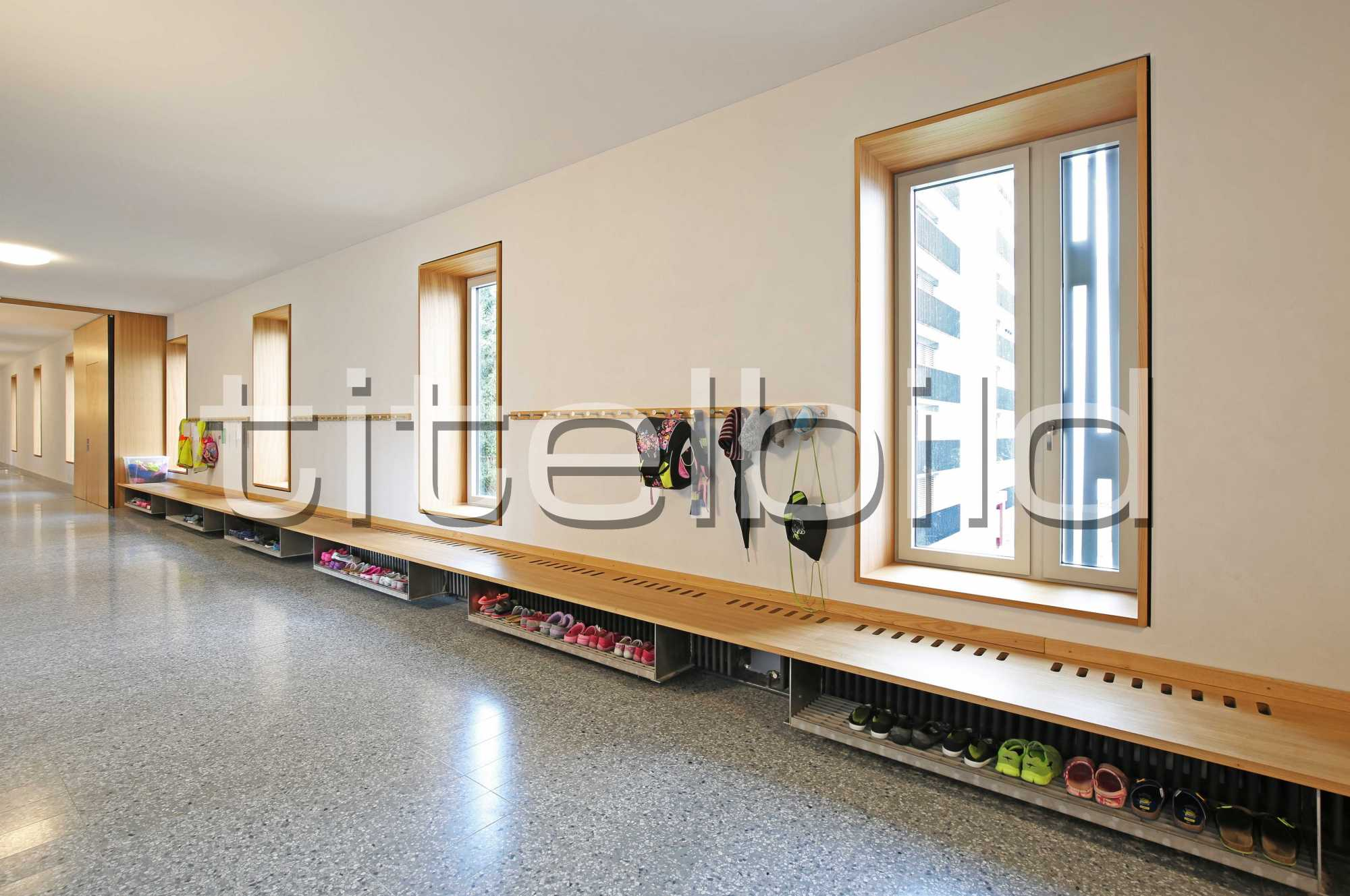 Projektbild-Nr. 4: Schulanlage Neuenhof Schulhaus Schibler