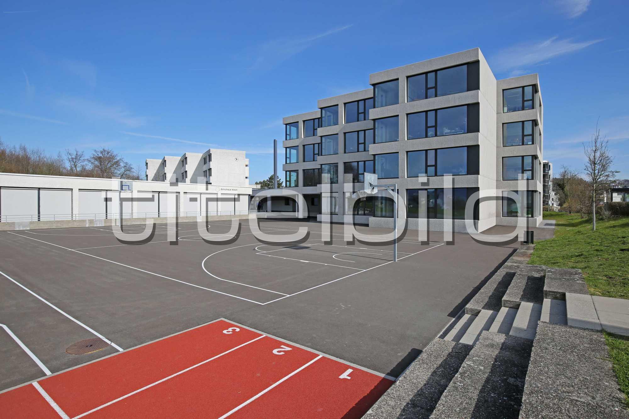 Projektbild-Nr. 1: Erweiterung Schulhaus Weidli