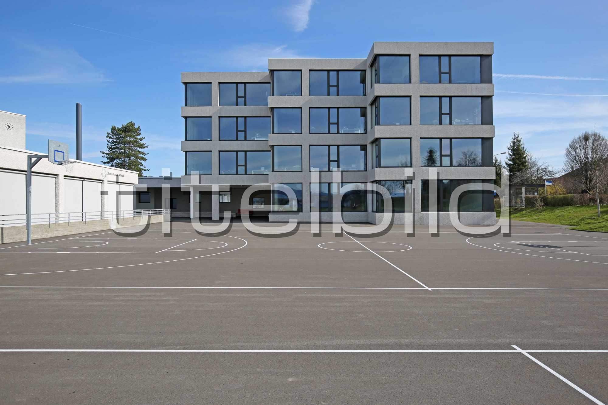 Projektbild-Nr. 2: Erweiterung Schulhaus Weidli