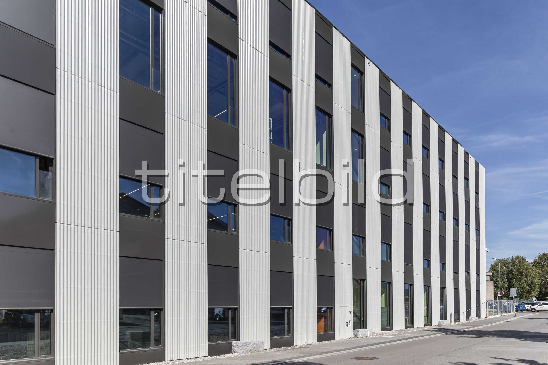 Projektbild-Nr. 1: Neubau Montage- und Logistikgebäude Mistal 14