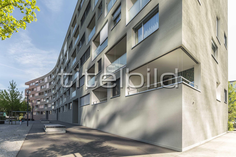 Projektbild-Nr. 1: Wohnen am Grienbach
