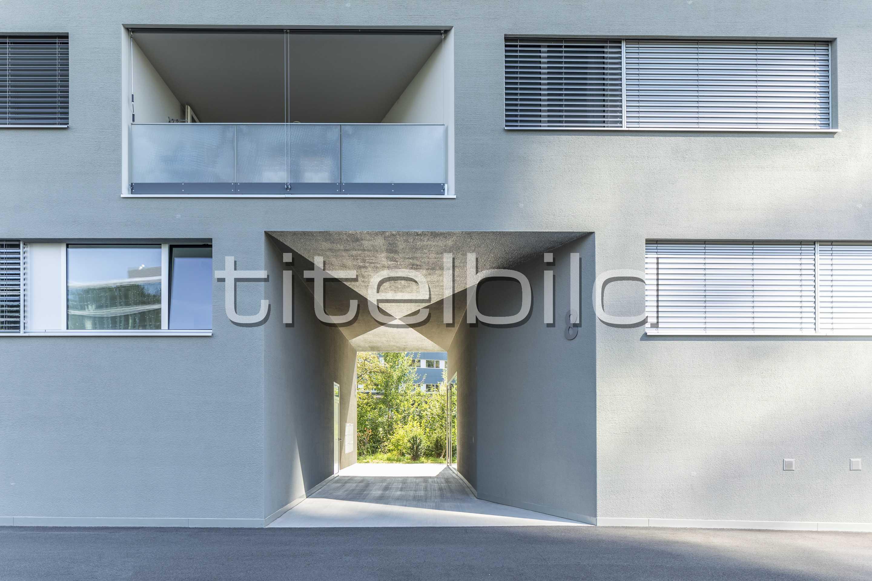 Projektbild-Nr. 6: Wohnen am Grienbach