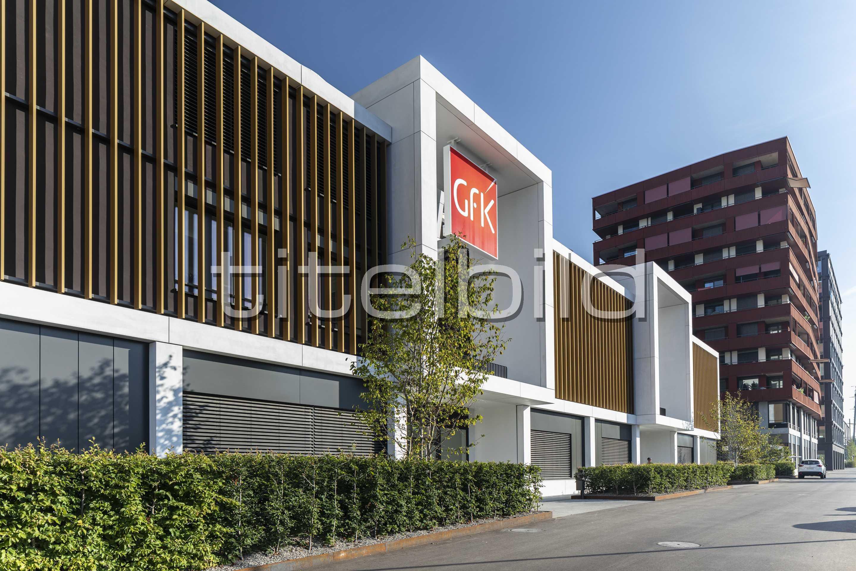 Projektbild-Nr. 3: Suurstoffi Ost Wohn- und Bürogebäude