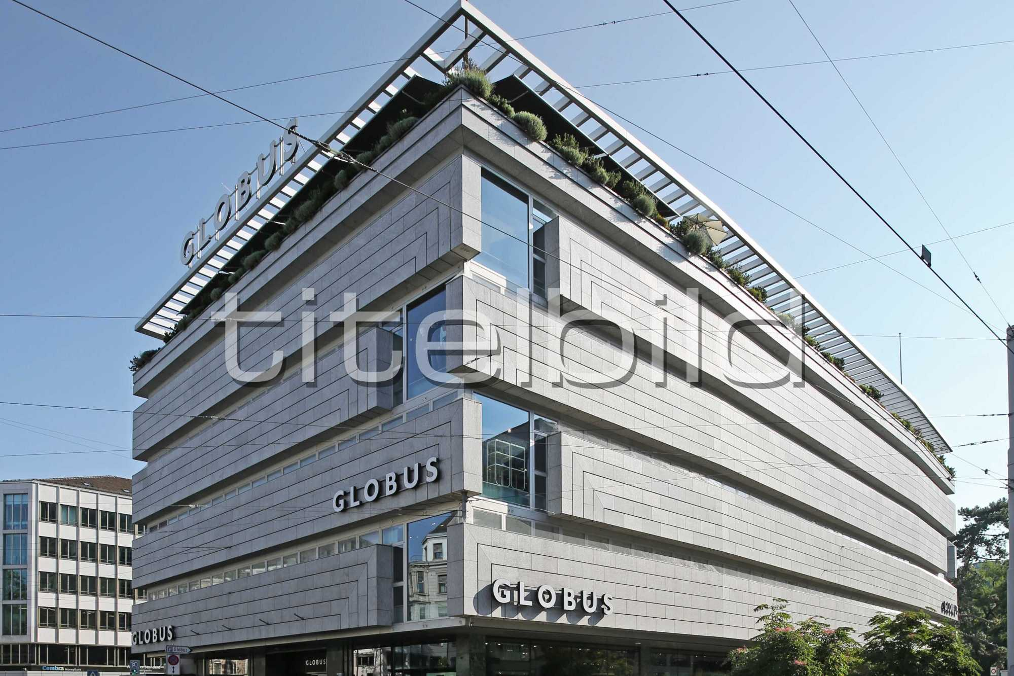 Projektbild-Nr. 0: Globus Zürich Bahnhofstrasse