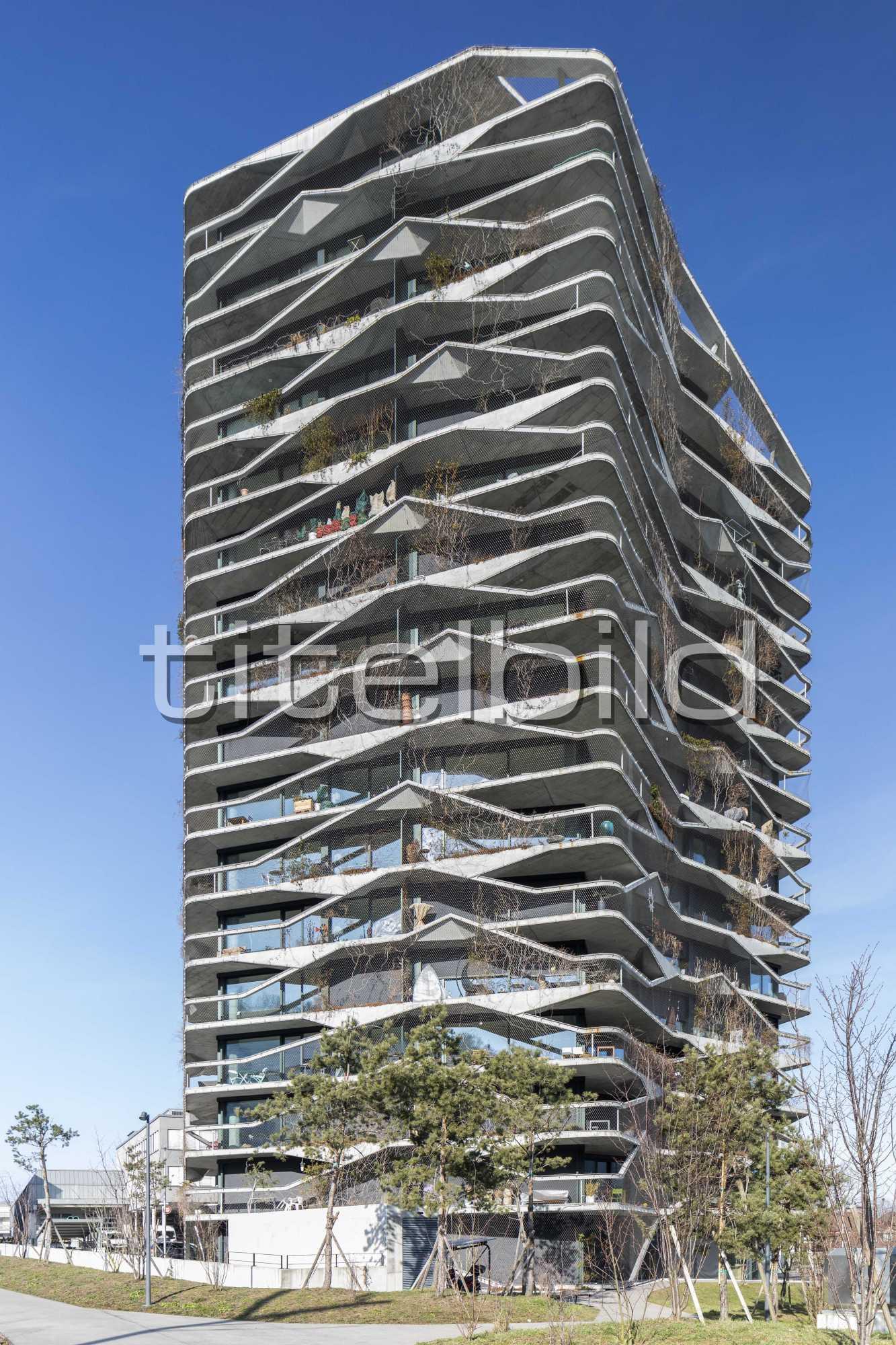 Projektbild-Nr. 1: Garden Tower Bächtelenpark Wabern