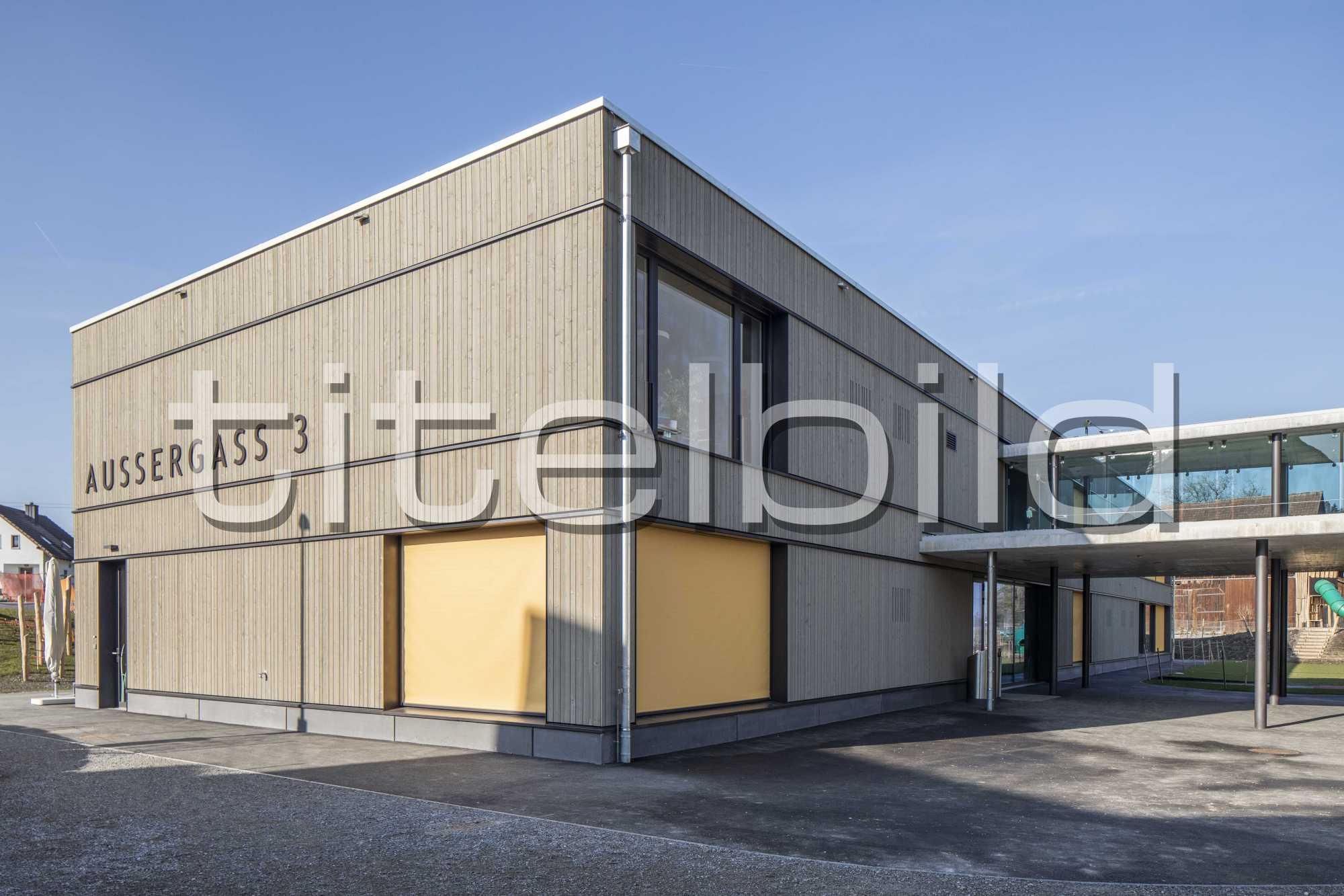 Projektbild-Nr. 1: Schulraum Aussergass, Grüningen