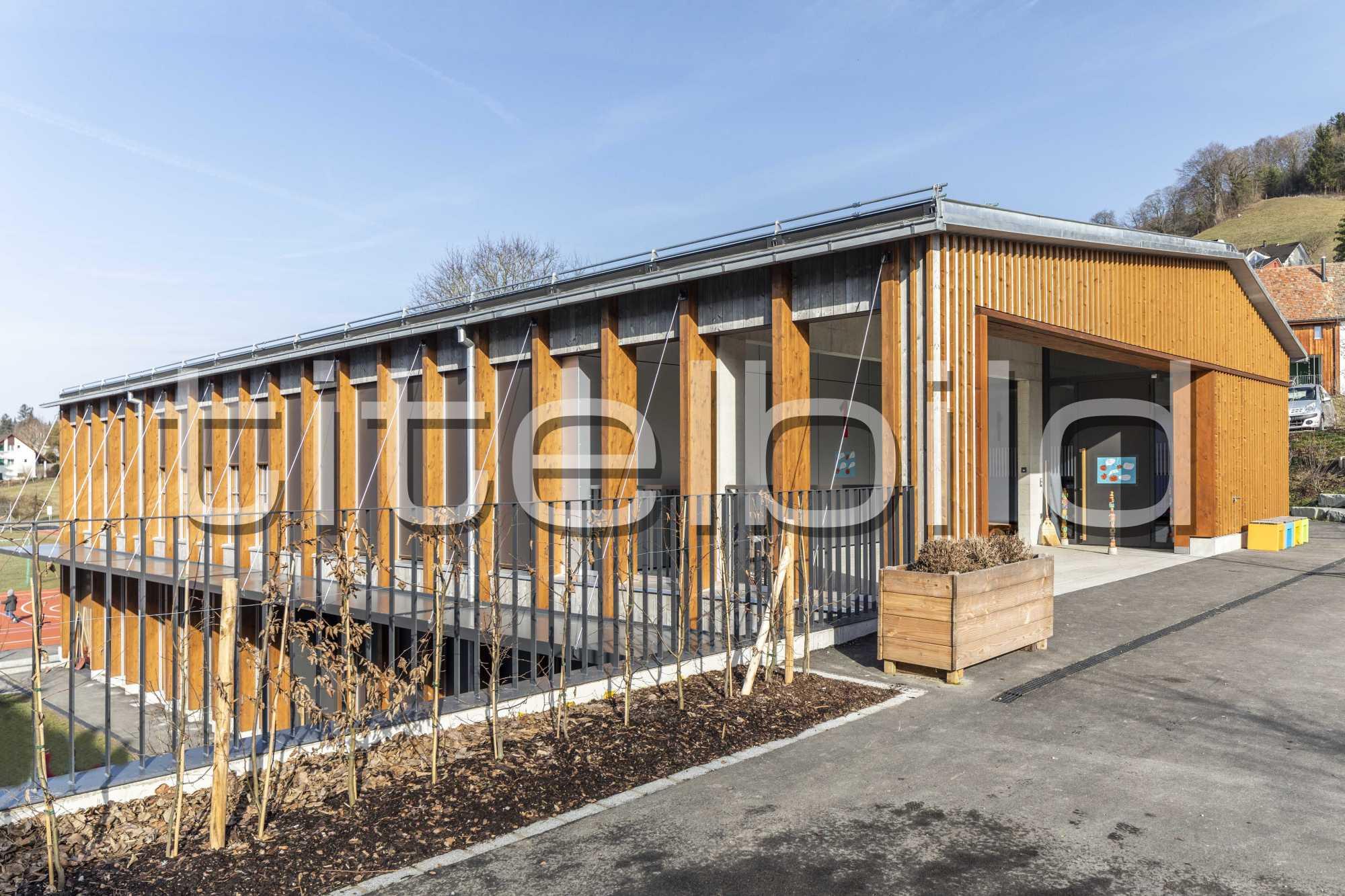 Projektbild-Nr. 1: Neubau Schulhaus