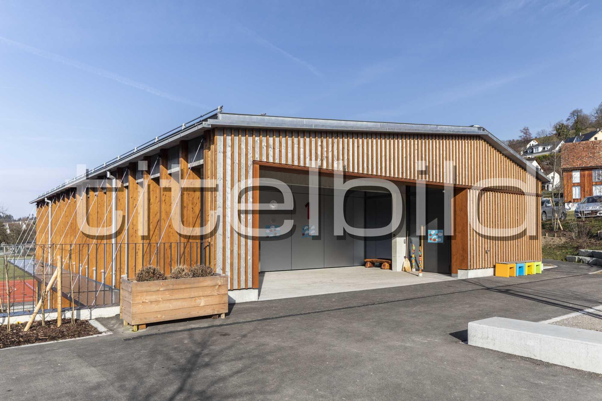 Projektbild-Nr. 2: Neubau Schulhaus