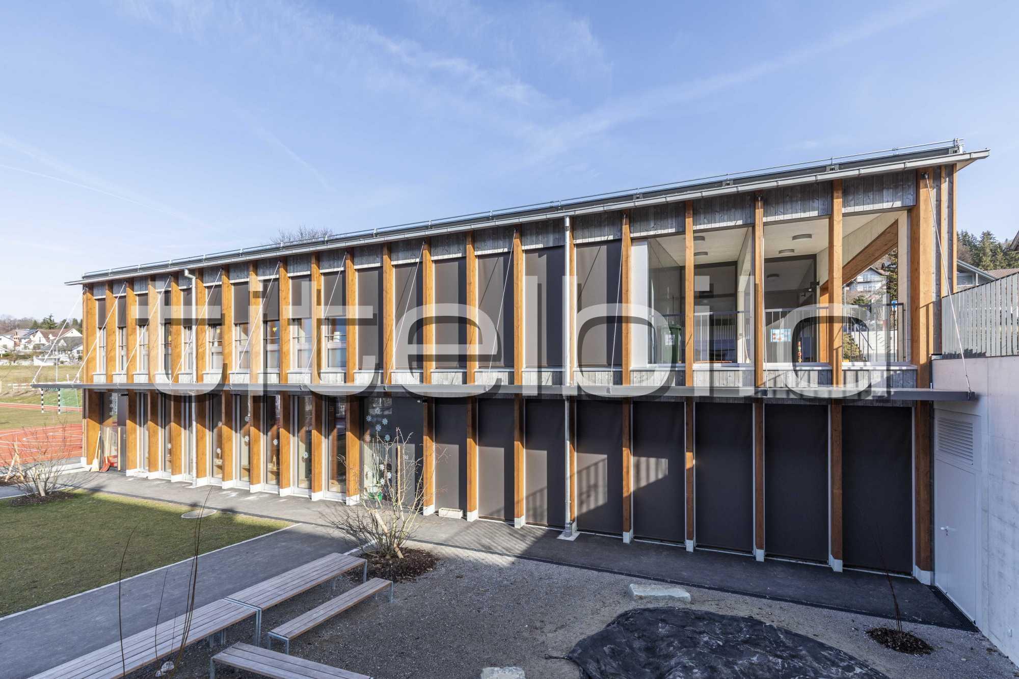 Projektbild-Nr. 3: Neubau Schulhaus