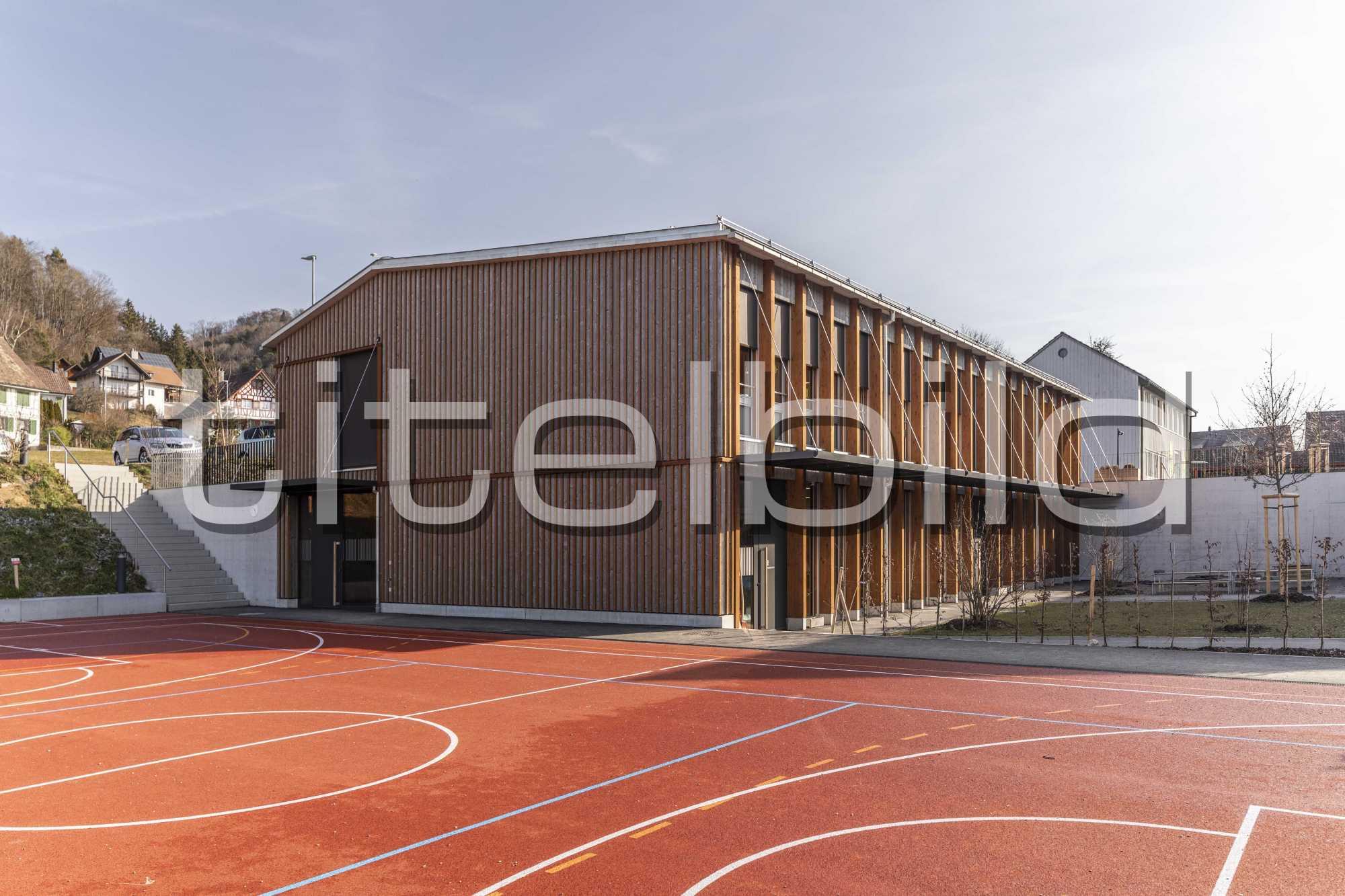 Projektbild-Nr. 4: Neubau Schulhaus