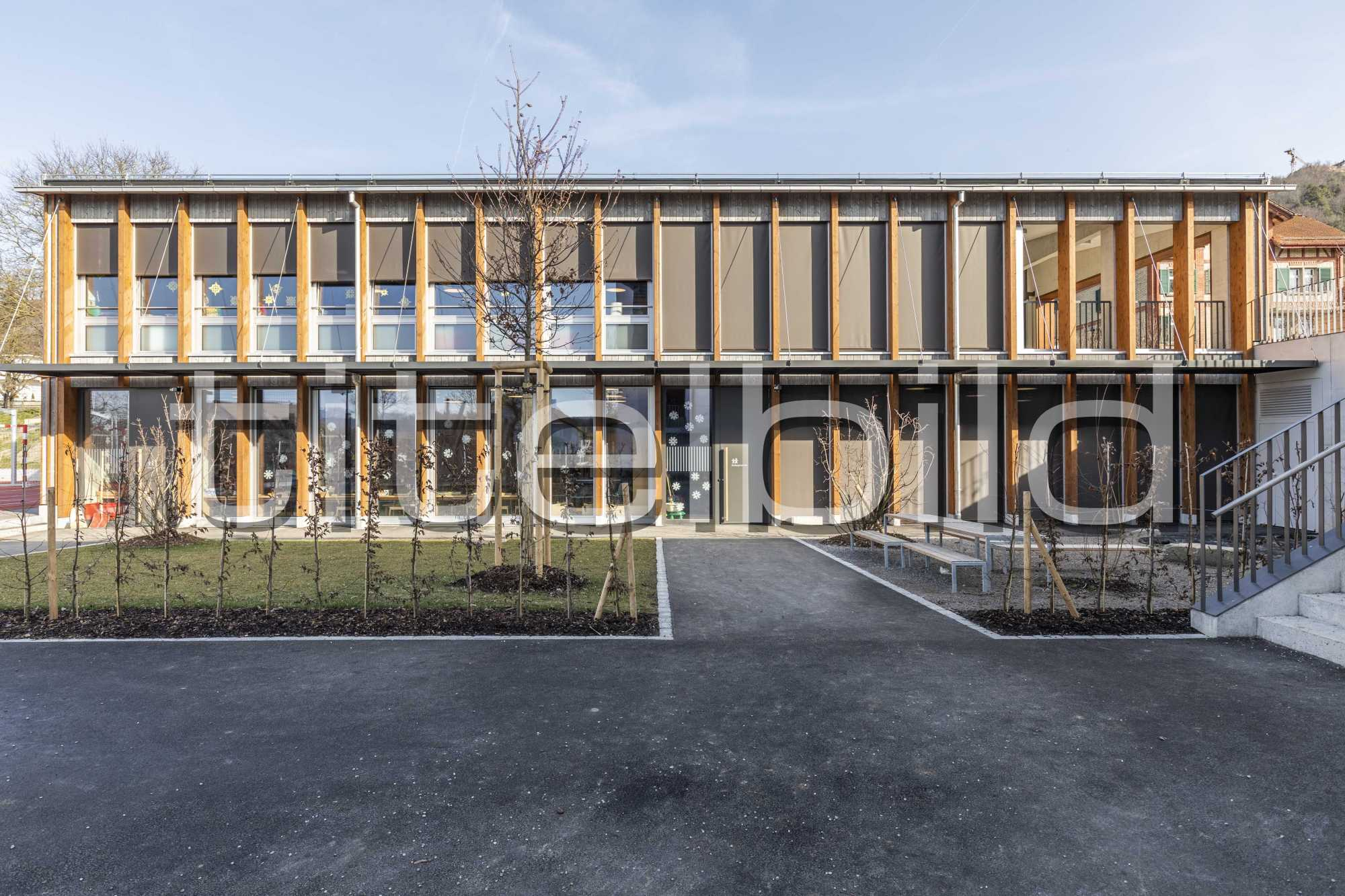 Projektbild-Nr. 5: Neubau Schulhaus