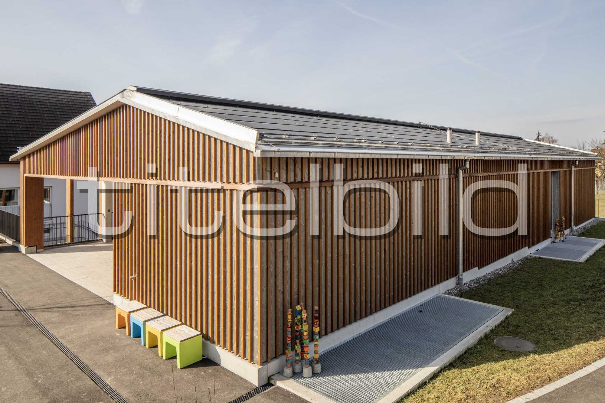 Projektbild-Nr. 6: Neubau Schulhaus