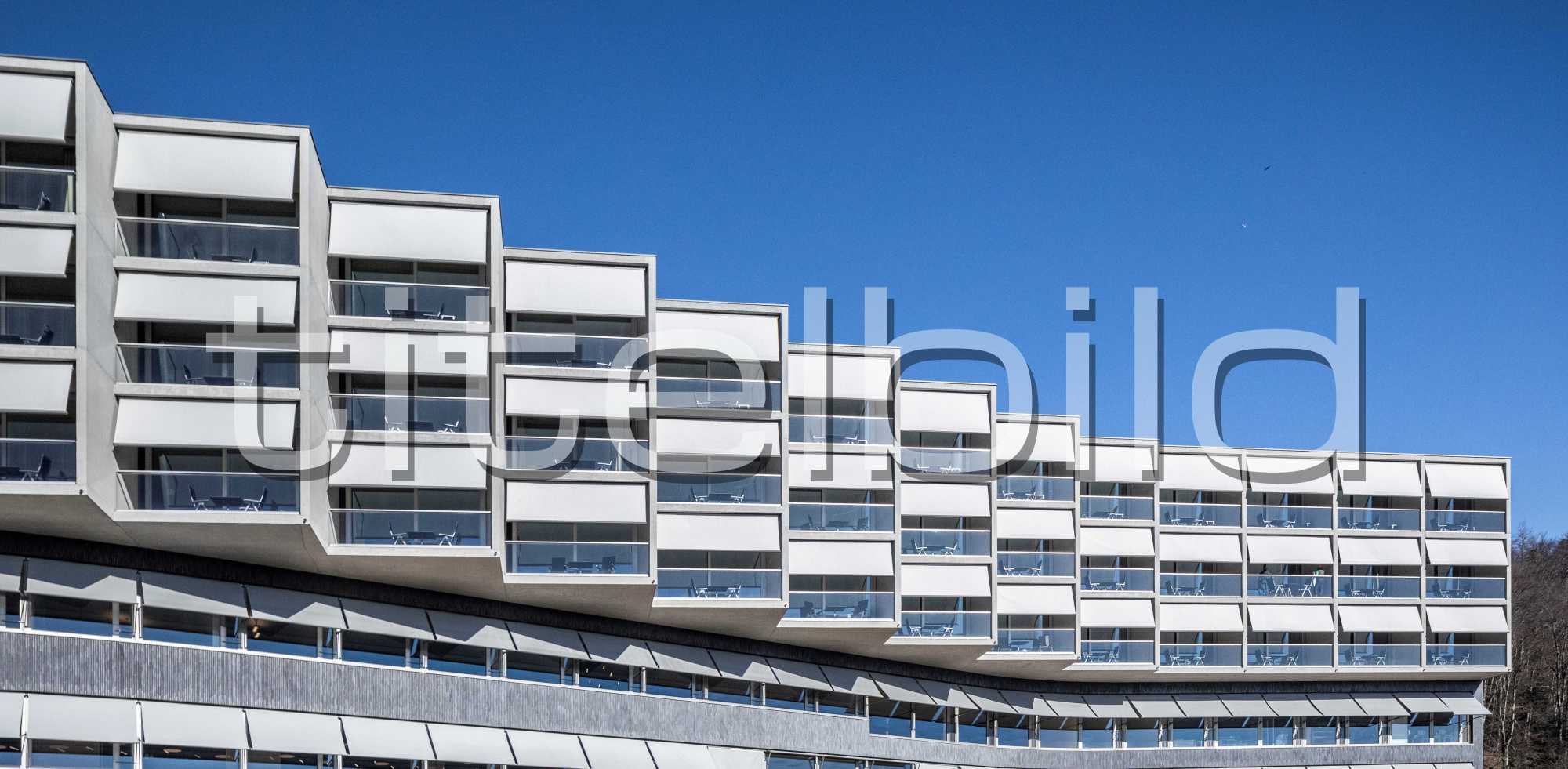 Projektbild-Nr. 2: Klinik Barmelweid Neubau Gebäude Oscar
