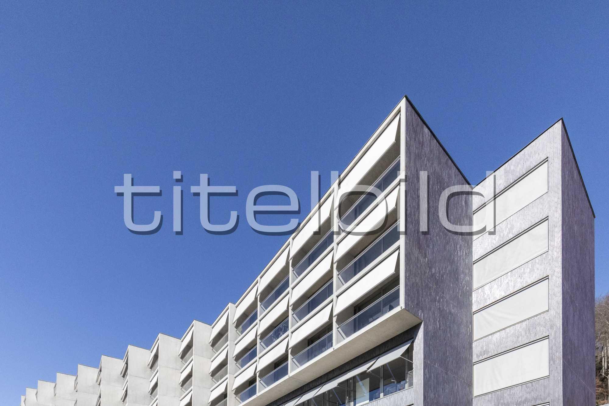 Projektbild-Nr. 3: Klinik Barmelweid Neubau Gebäude Oscar