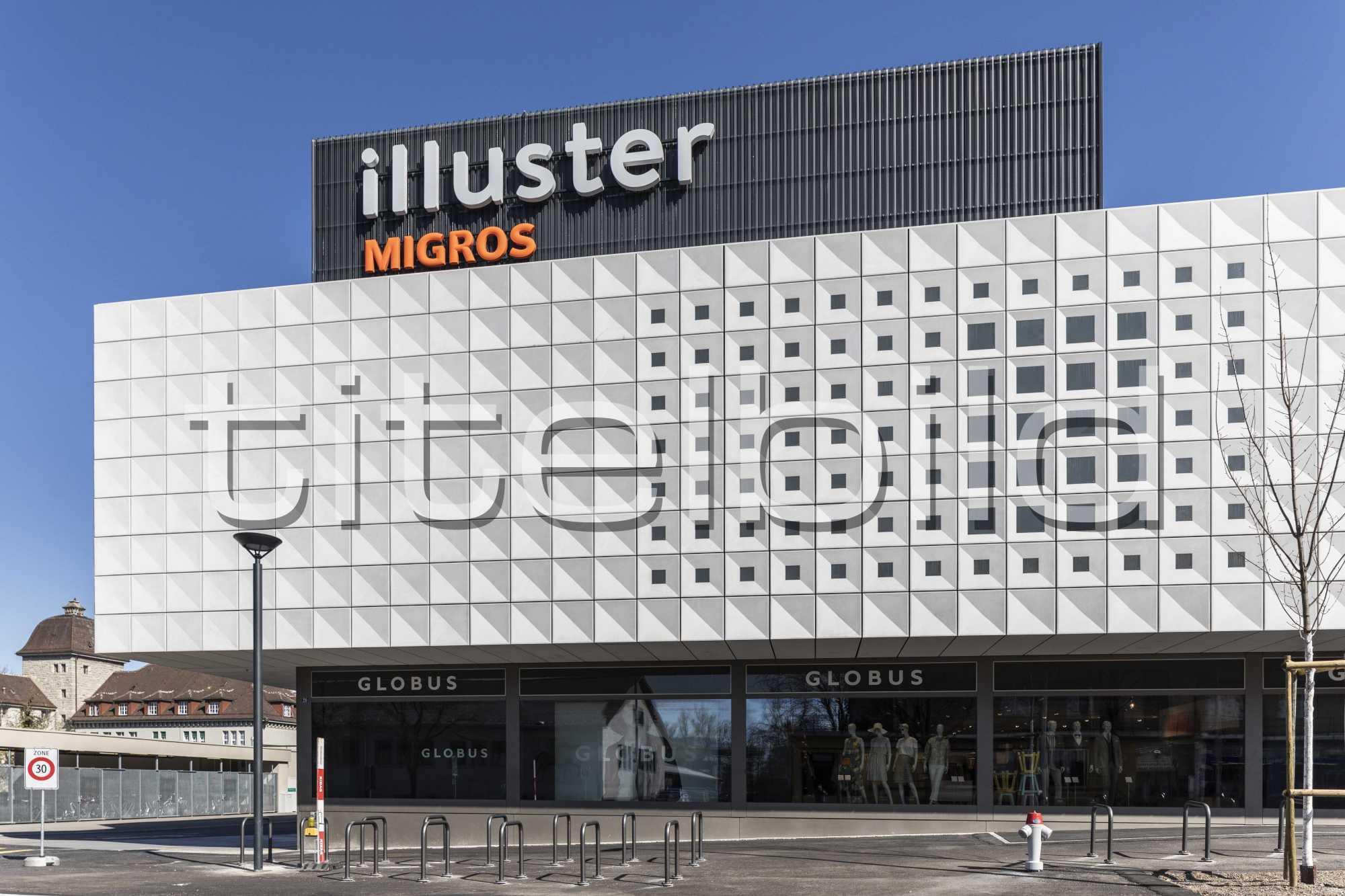 Projektbild-Nr. 2: Illuster Umbau Einkaufszentrum