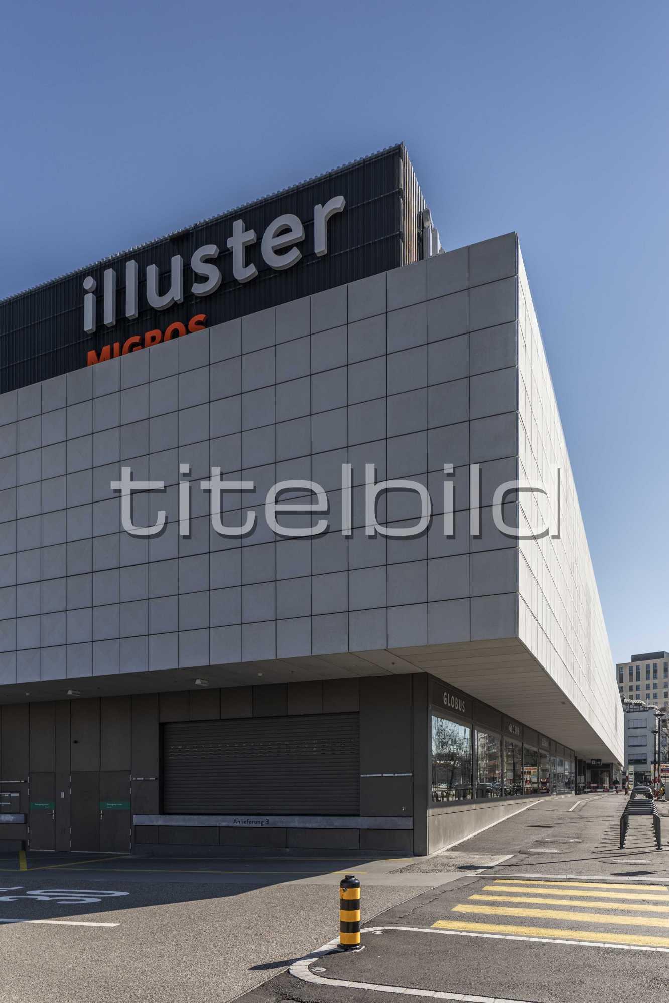 Projektbild-Nr. 3: Illuster Umbau Einkaufszentrum