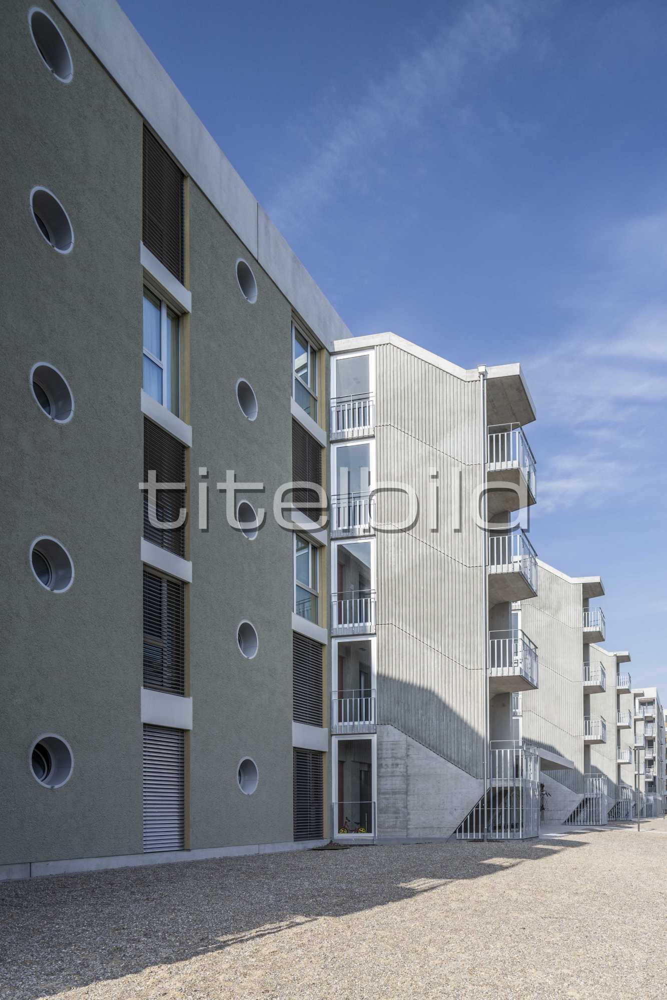 Projektbild-Nr. 8: ABZ Siedlung Glattpark