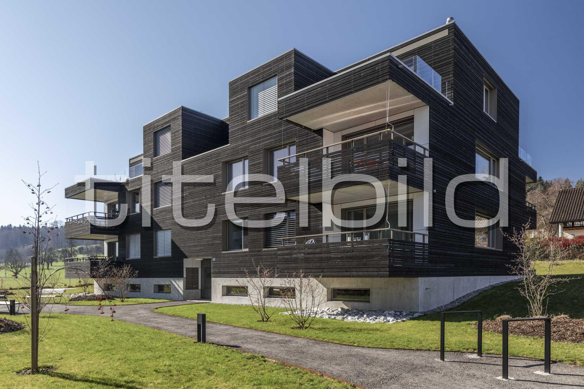 Projektbild-Nr. 0: Wohnsiedlung Im Männliacher