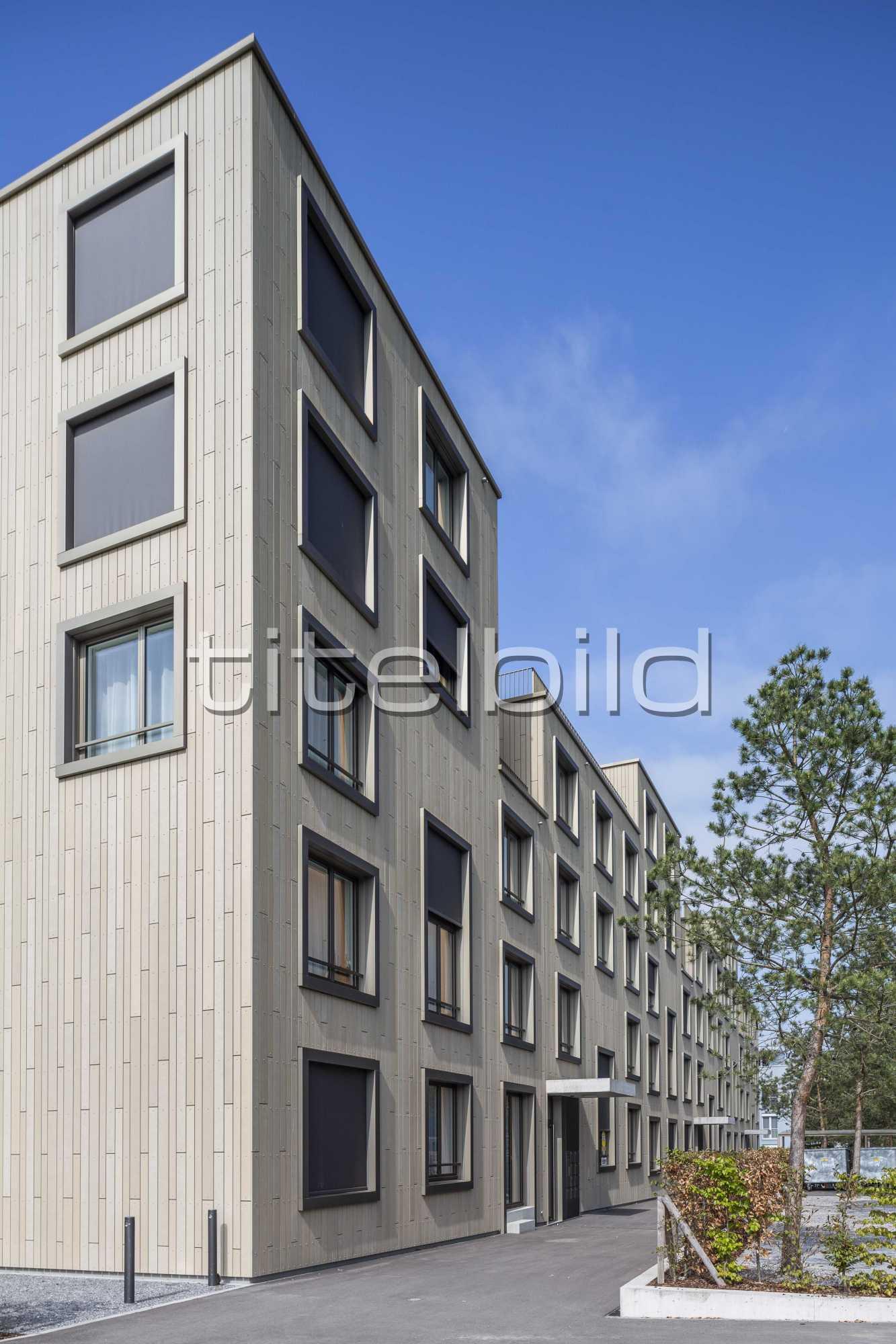 Projektbild-Nr. 1: Wohnsiedlung Neufeld