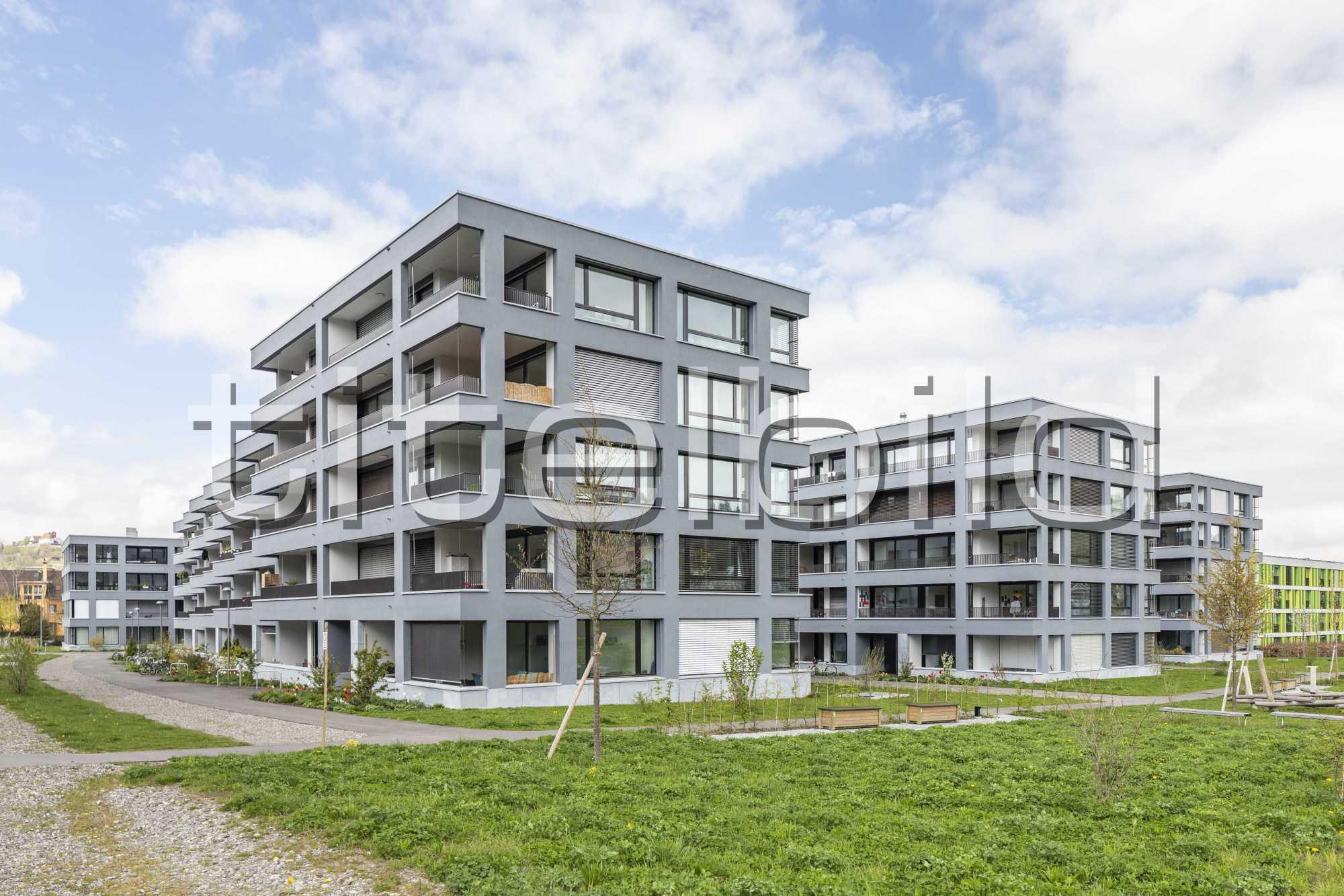Projektbild-Nr. 7: Am Widmipark Wohnbebauung Widmi 2