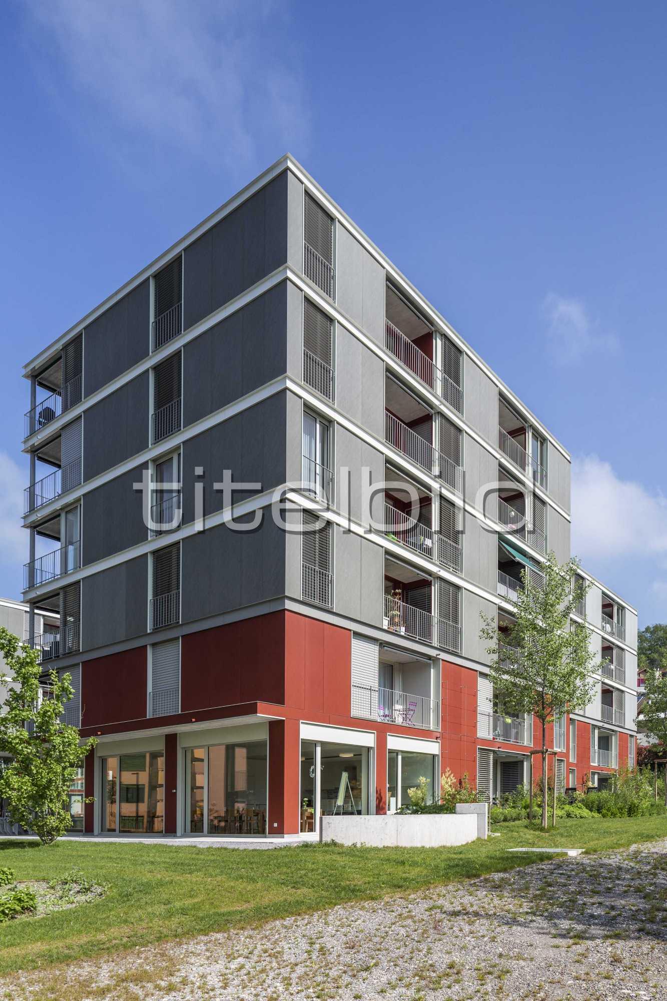 Projektbild-Nr. 9: Wohnüberbauung Sulperg 2